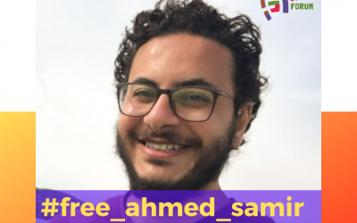 Call for the immediate release of Ahmed Samir Abdelhay Ali