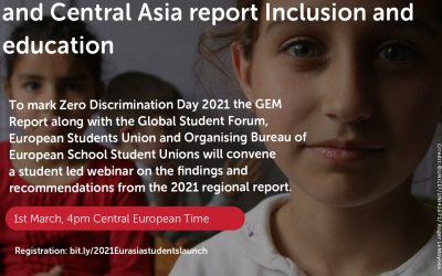 #AllmeansALL – UNESCO Eurasia Report on Inclusion and Education
