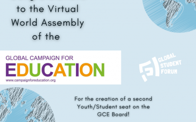The GSF Joins the Global Campaign for Education (GCE)