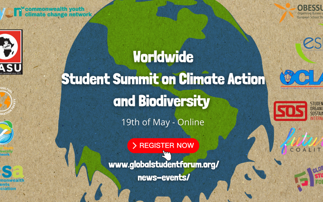 Worldwide Student Summit on Climate Action and Biodiversity