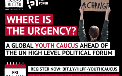 Global Youth Caucus ahead of the HLPF 2021