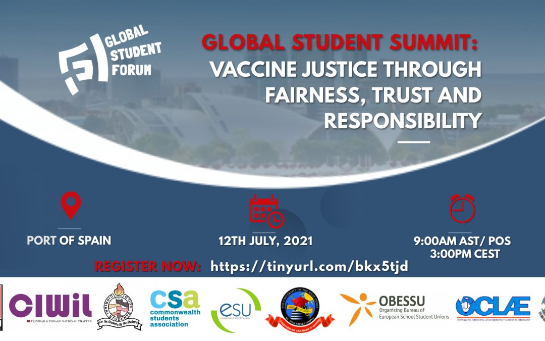 Vaccine Justice through Fairness, Trust and Responsibility– Global Student Summit