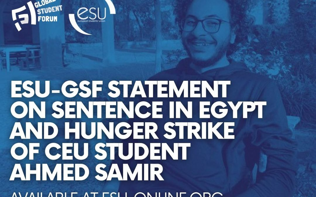 Austrian student on a hunger strike in Egyptian prison after an unjust verdict: Free Ahmed Samir!