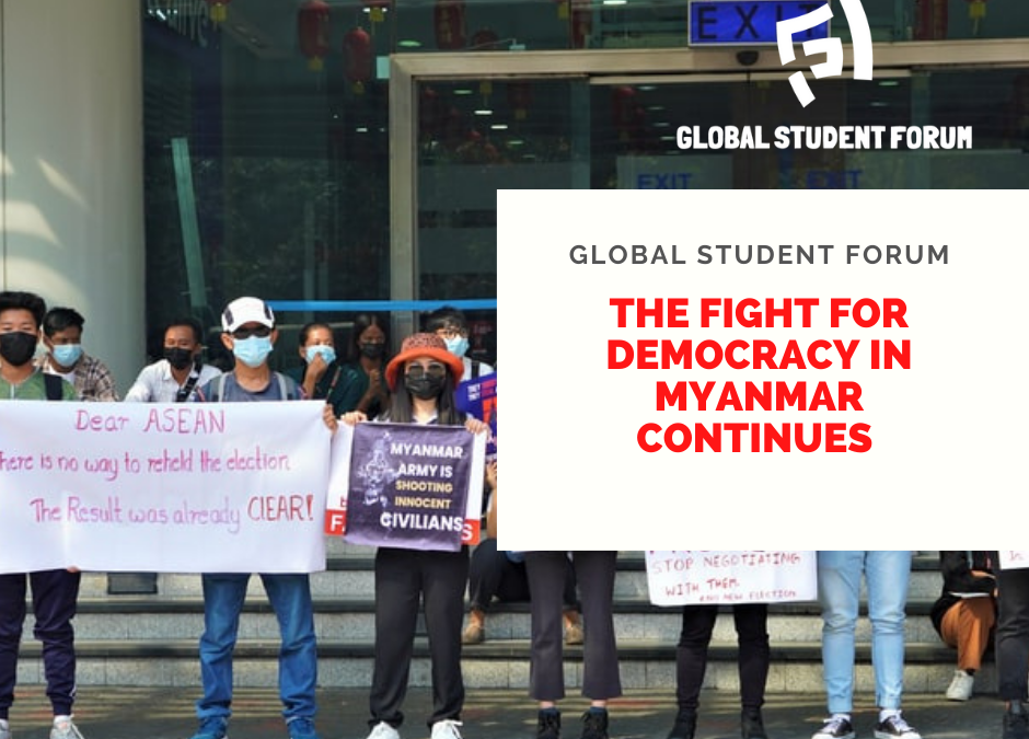Statement: The Fight for Democracy in Myanmar Continues!