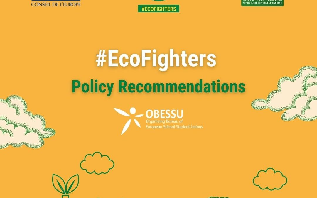 #EcoFighters – OBESSU School students for the environment project
