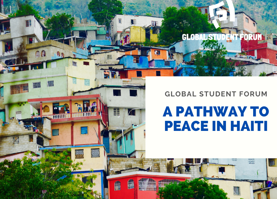Statement: A Pathway to Peace in Haiti