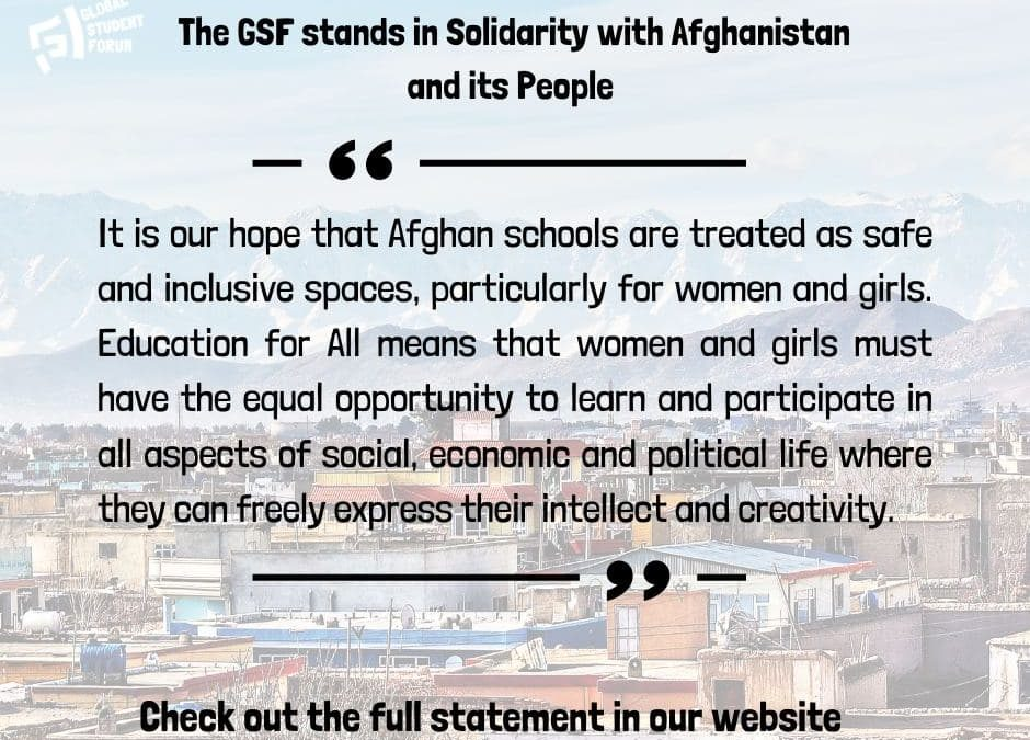 Solidarity with Afghan Students