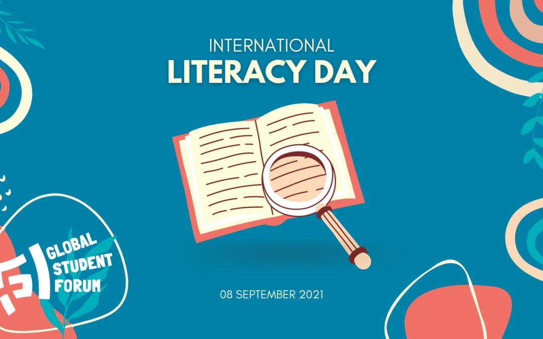 Statement on International Literacy Day 2021